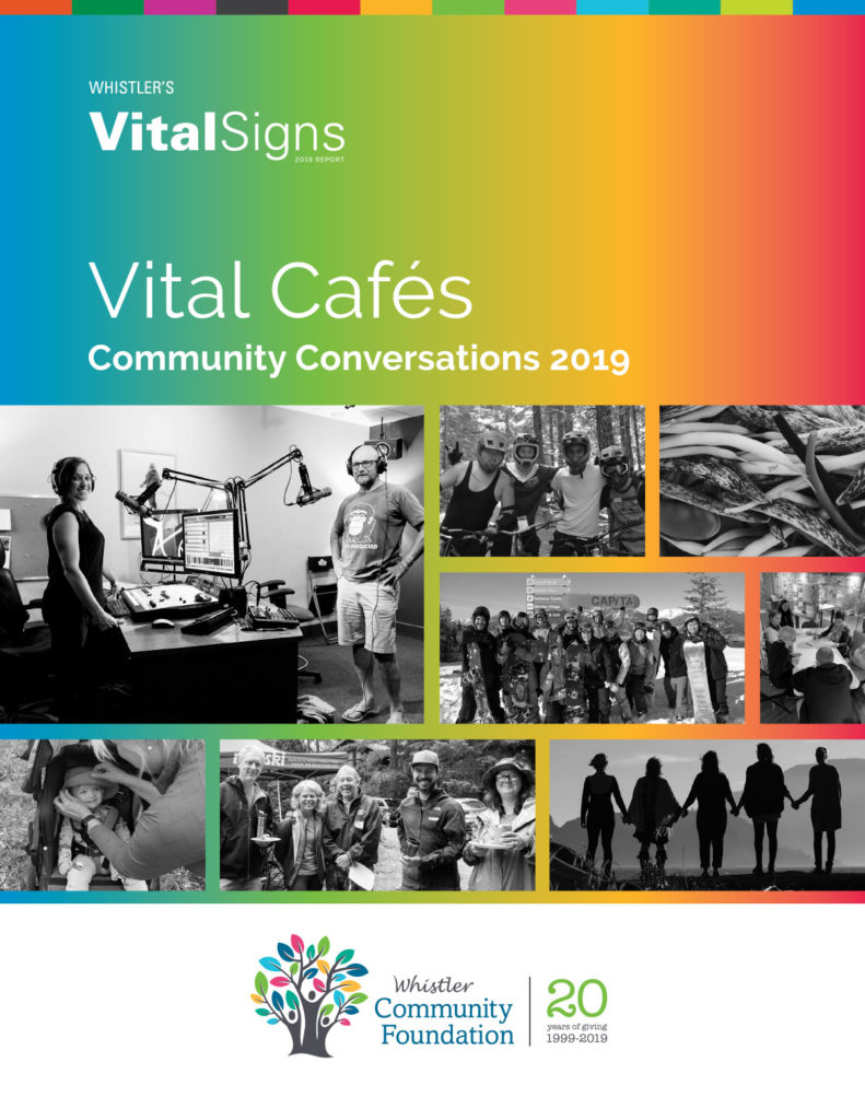 Vital Cafes Report Cover